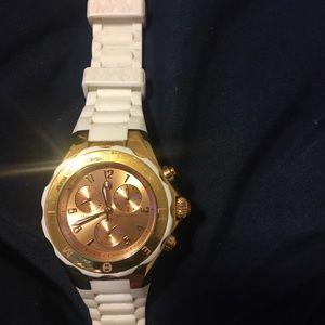 Michele watch rose gold